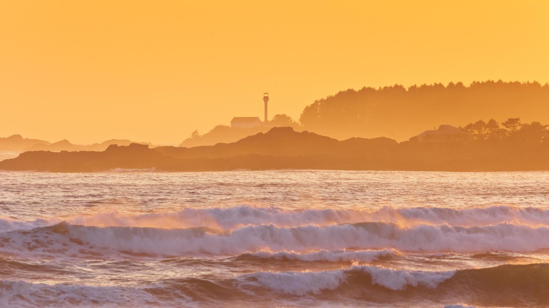 Courtesy Tourism Vancouver Island / Boomer Jerritt, Tofino Sunset, Healthy Living + Travel