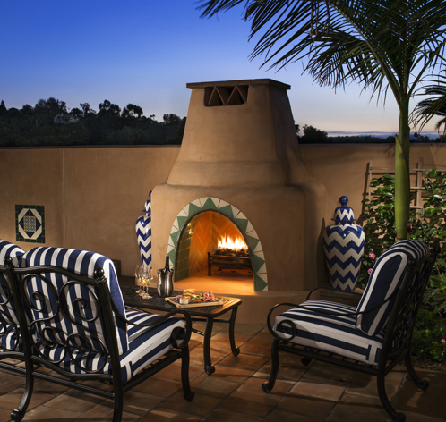 Casita Patio, Rancho Valencia - Healthy Living + Travel