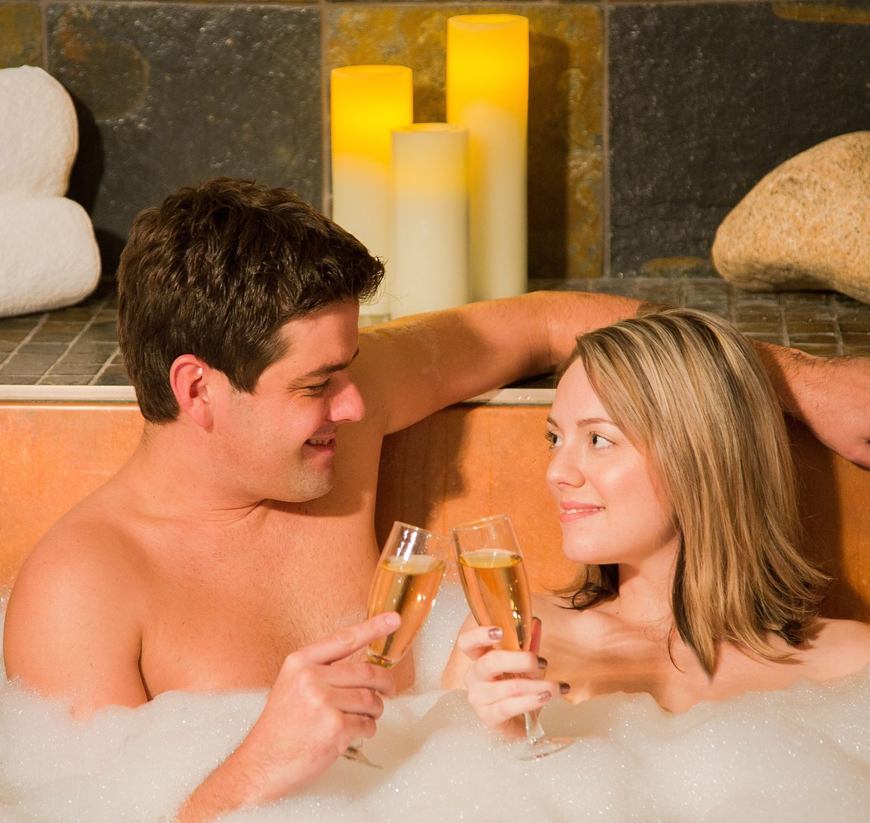 Grotto Spa Couple, Healthy Living + Travel