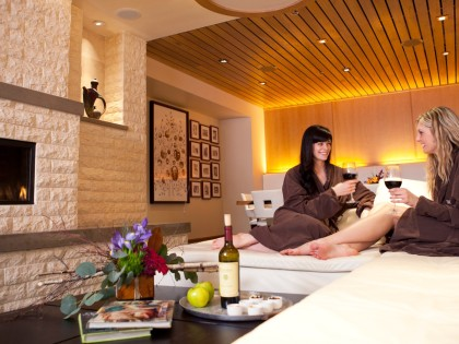 Utah Relaxation ~ Waldorf Astoria Spa, Park City