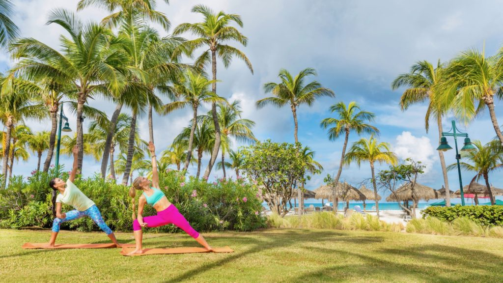 Hilton Aruba, Healthy Living + Travel