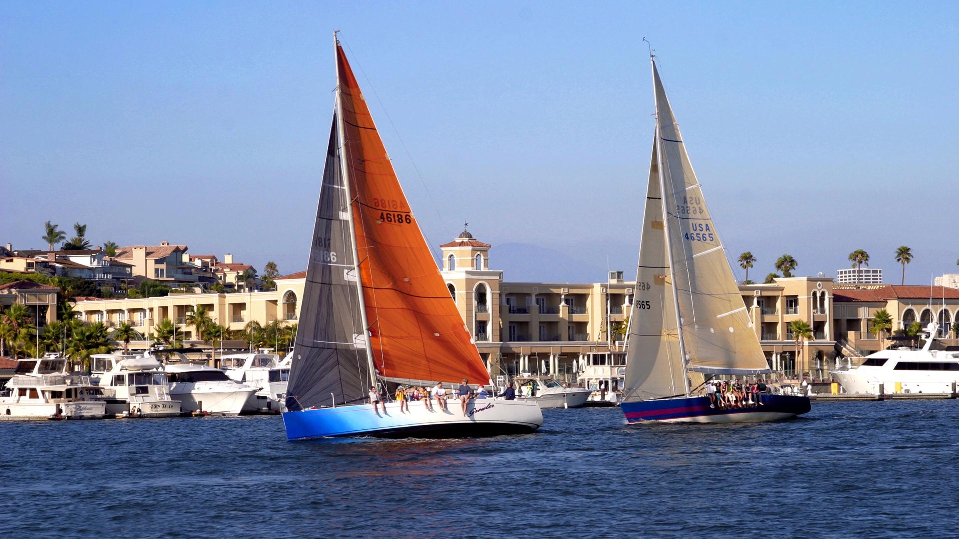 Sailing Boats, Balboa Bay, Healthy Living + Travel