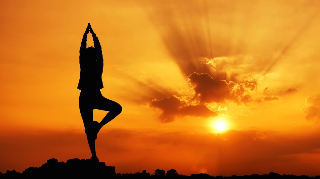 Yoga + Fertility Sunset, Healthy Living + Travel
