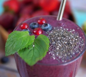 Chia Seed Smoothie, Healthy Living + Travel