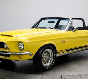 1968 Shelby GT500KR Convertible, Healthy Living + Travel