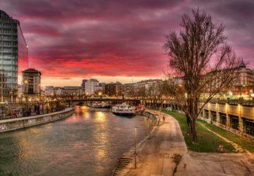 Vienna, Austria, Canal | Healthy Living + Travel