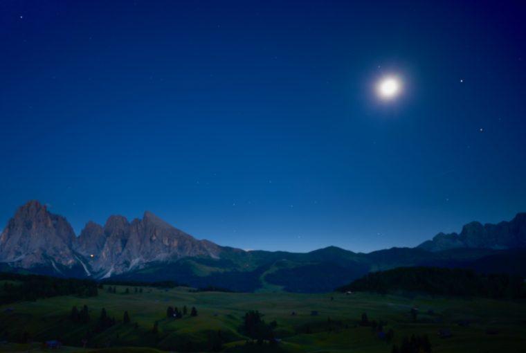 Full Moon Hiking in the Dolomites, Adler Spa Resort Dolomiti, Healthy Living + Travel