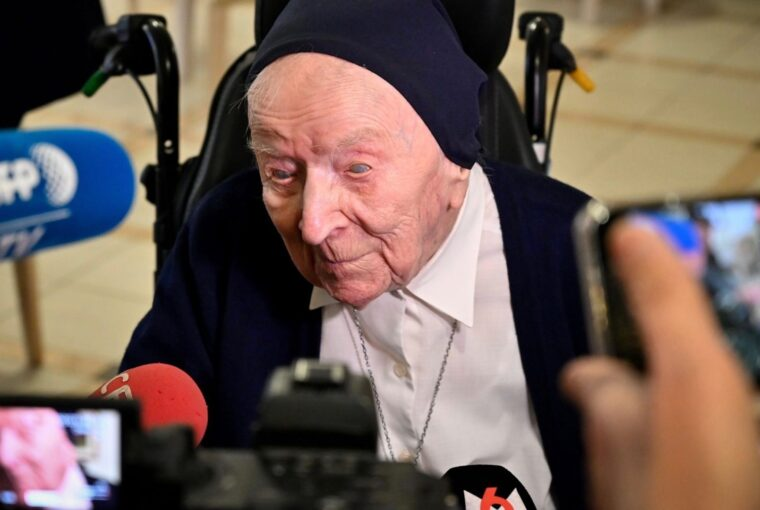 Europe's oldest person, French nun Sister Andre, survives COVID-19, Healthy Living + Travel