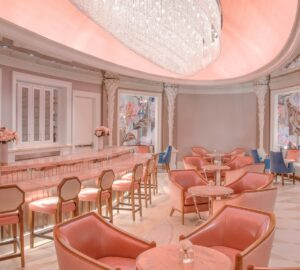 Pink Tea Room, Hotel Bennett, Spas of America