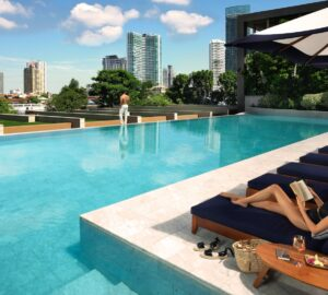 Capella Bangkok - Pool, Healthy Living + Travel