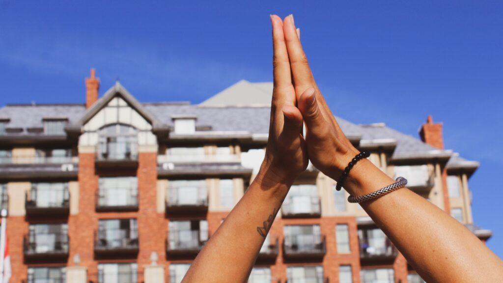 Oak Bay Beach Hotel Yoga, Hands, Healthy Living + Travel