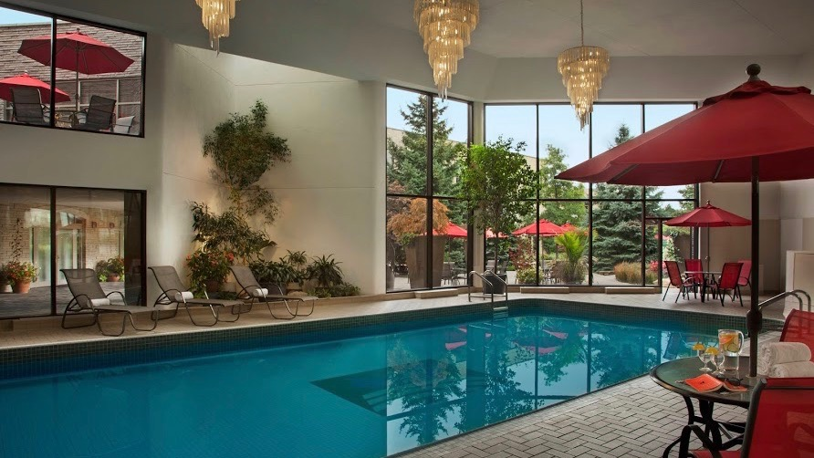 Pool & Jacuzzi, The Spa at White Oaks, Spas of America