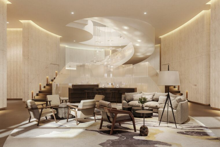 The Pearle Hotel & Spa, Lobby, Healthy Living + Travel