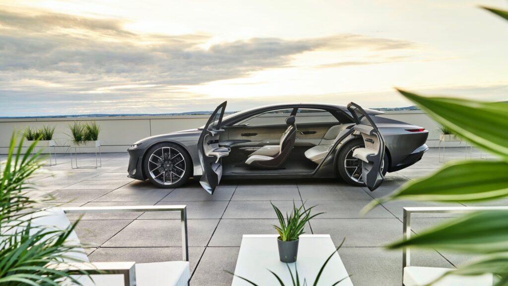 Audi Gransphere, 2021 Munich Auto Show, Healthy Living + Travel