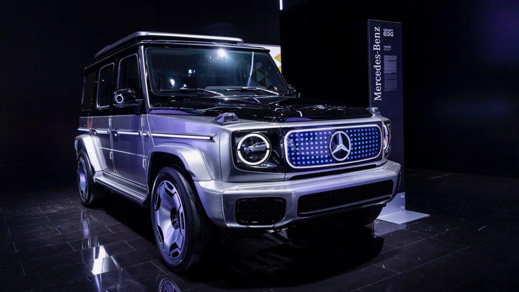 Mercedes EQG, 2021 Munich Auto Show, Healthy Living + Travel