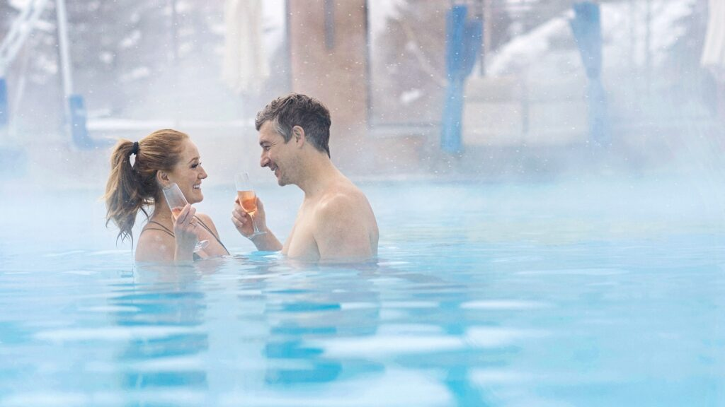 Pool, The Spa at Sun Valley Resort, Healthy Living + Travel